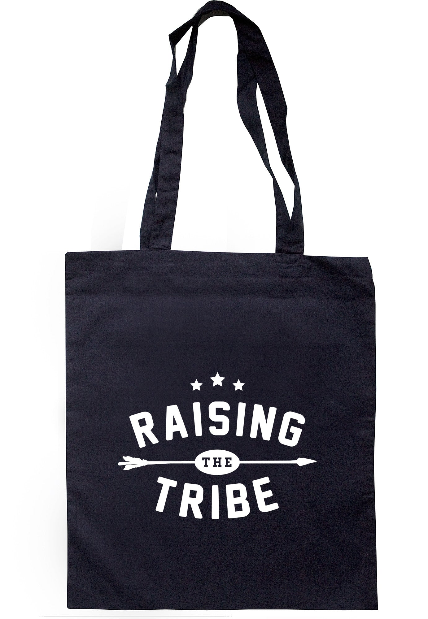 Raising The Tribe Tote Bag TB0559 - Illustrated Identity Ltd.
