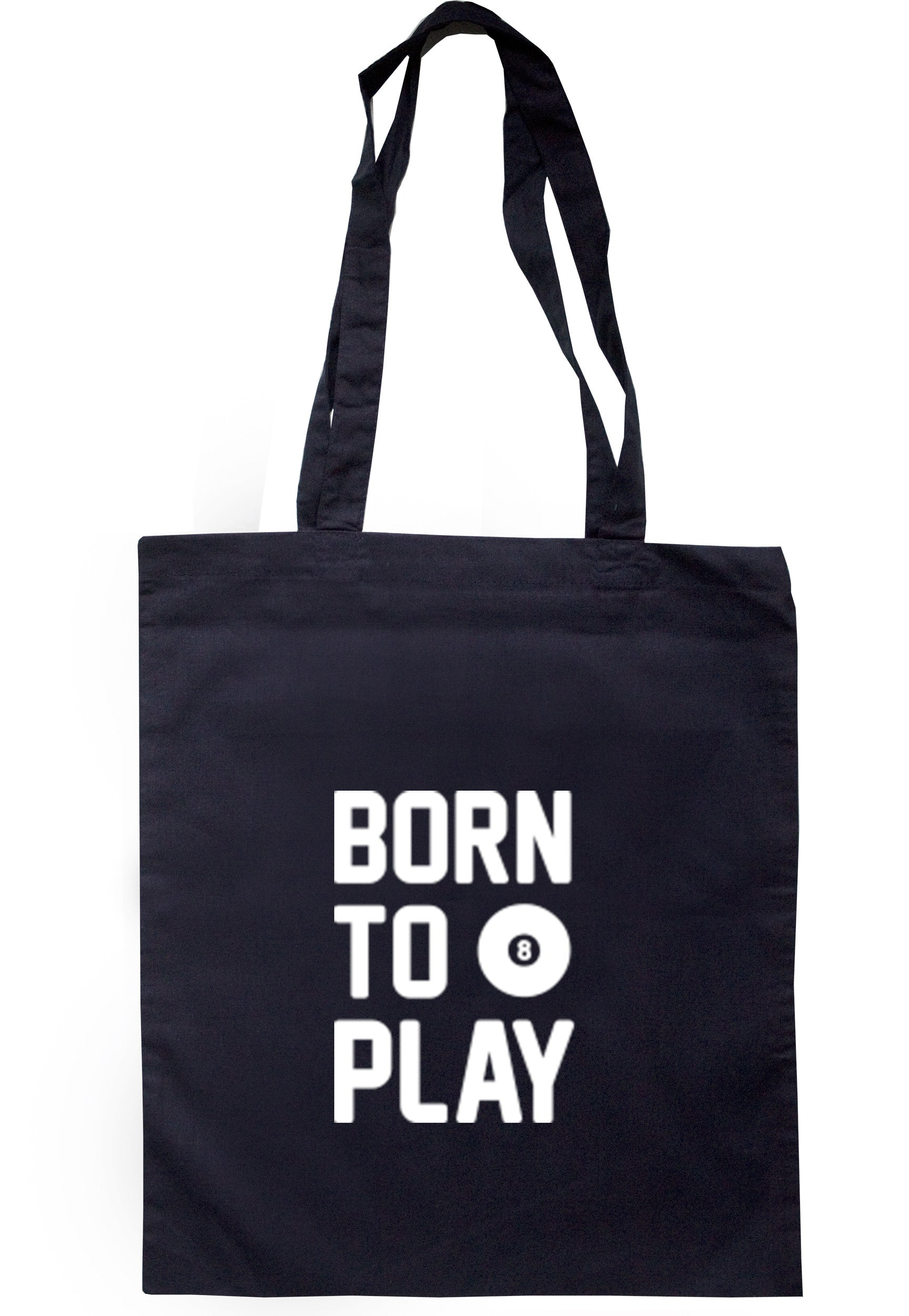 Born To Play Pool Tote Bag TB0354 - Illustrated Identity Ltd.