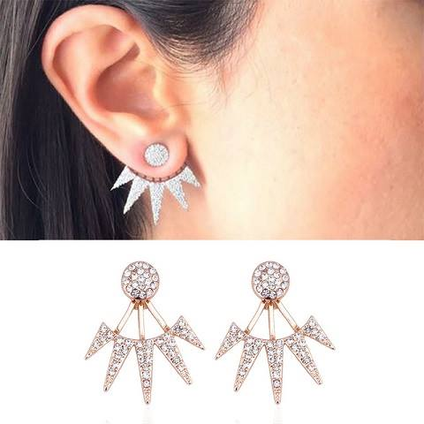 Ear jacks med bling bling