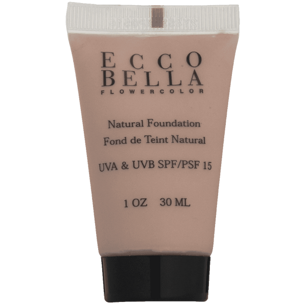 Ecco Bella FlowerColor Liquid Foundation SPF 15 Natural