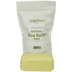 Shea Butter - Nature's Perfect Organics 100% Pure RAW Unrefined Shea Butter