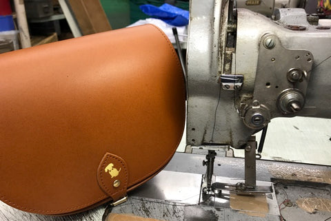 The Making of a Teddy Maximus Saddle Bag