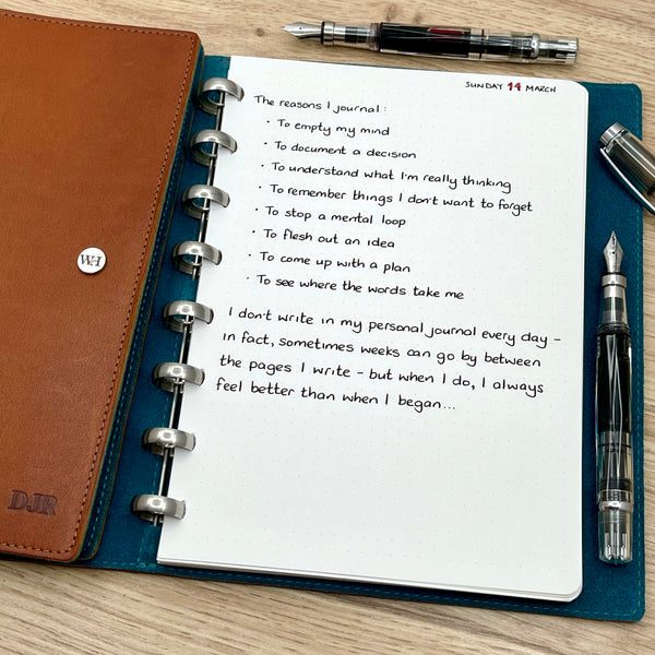 The Reasons I Journal...