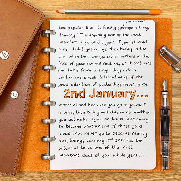 2nd January - the most important day of the year…?