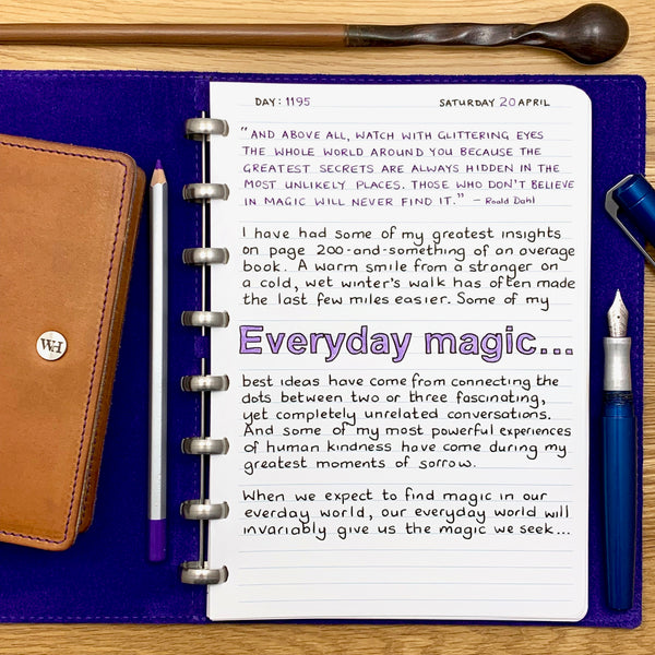 Everyday magic...