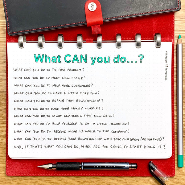 What CAN you do...?