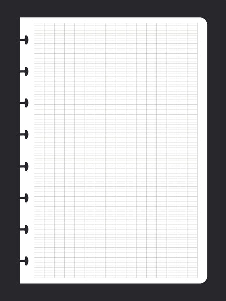 Seyes Grid Ruled Paper (A5, 50 Pack)