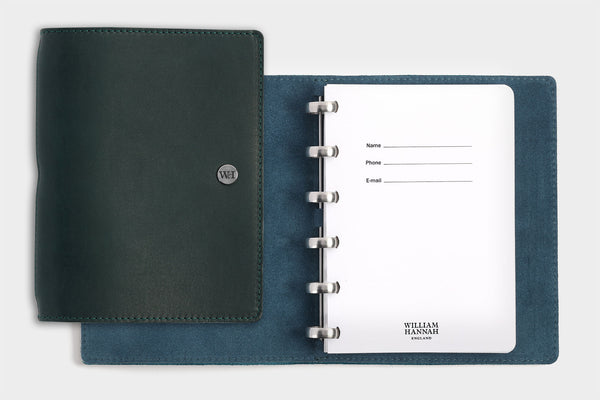 A6 Agave & Petrol Notebook