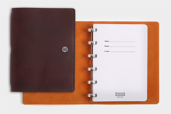 A6 Dark Chocolate & Orange Notebook