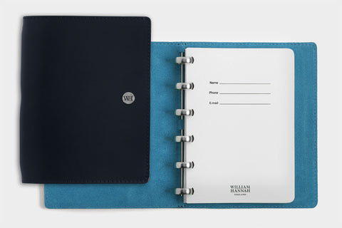 A6 Navy & Kingfisher Notebook