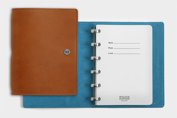 A6 Whiskey & Kingfisher Notebook