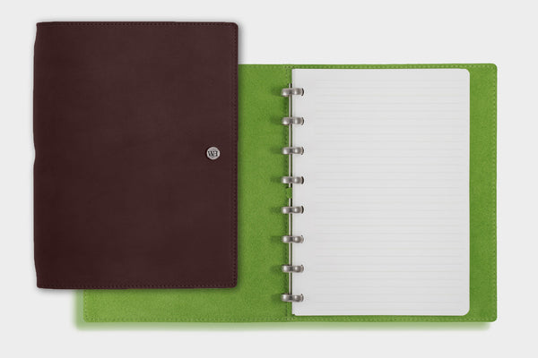 A5 Dark Chocolate & Lime Notebook