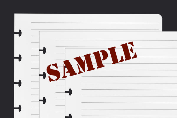 Sample Paper (A5, 13 pack)