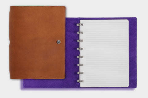 A5 Whiskey & Ultra Violet Notebook