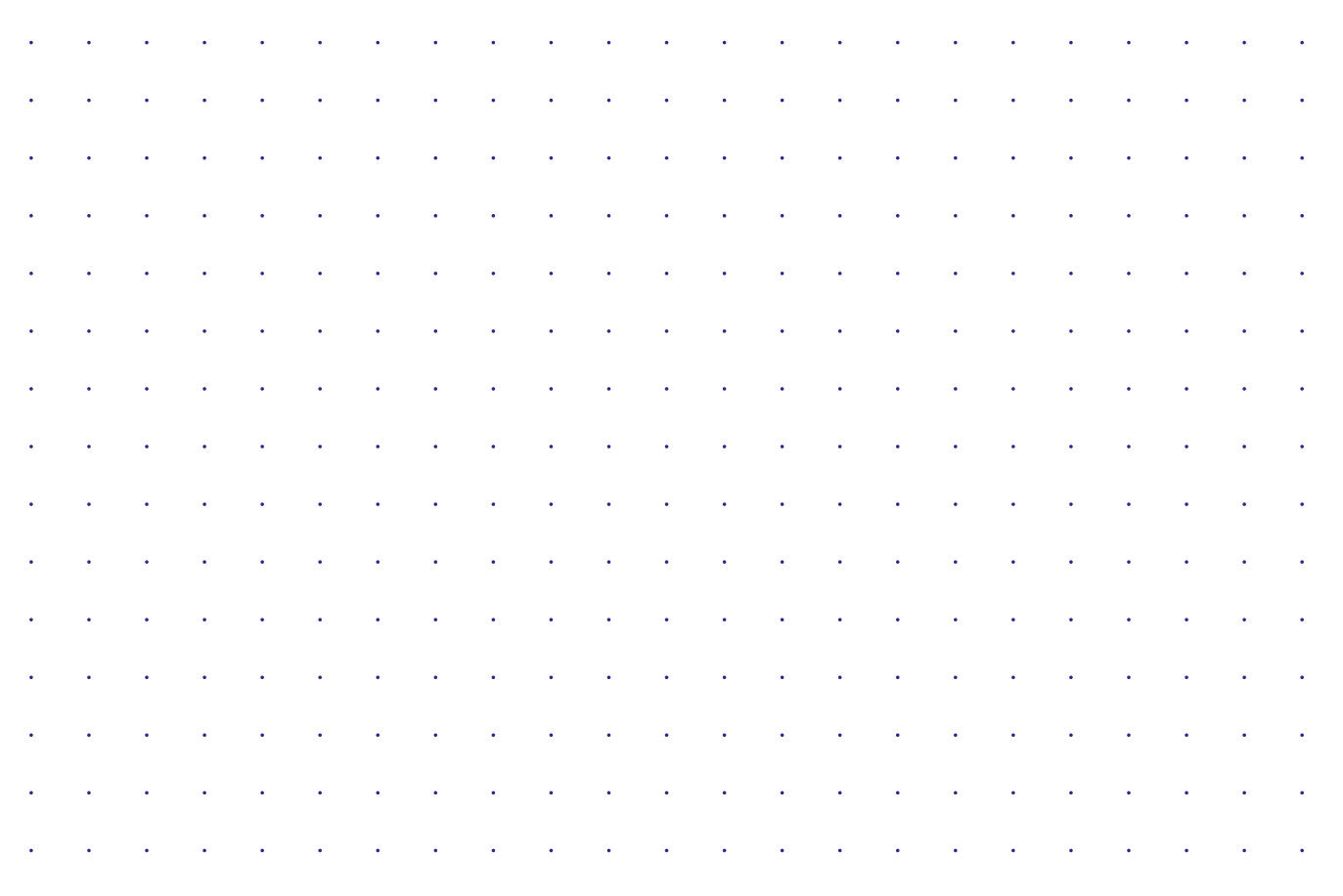 william hannah   5mm dotted grid paper a6 refill  100 pack