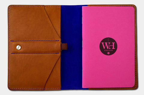 Whiskey & Ultra Violet Pocket Notebook Cover