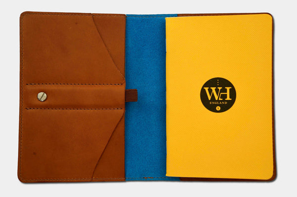 Whiskey & Kingfisher Pocket Notebook Cover