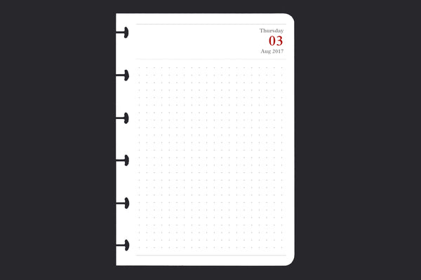 100 Day Pack (A6, day-to-a-page)