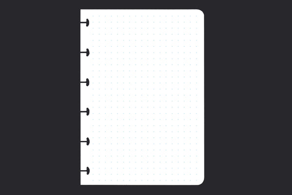 5mm Dotted Grid Paper (A6, 50 pack)