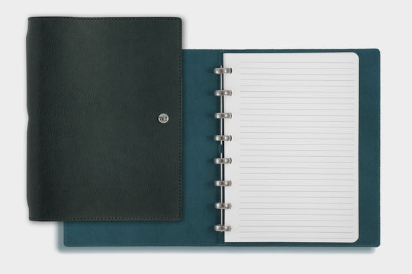 A5 Agave & Petrol Notebook