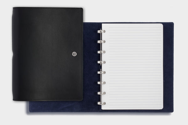 A5 Black & Navy Notebook