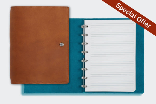 SPECIAL OFFER - A5 Whiskey & Kingfisher Notebook