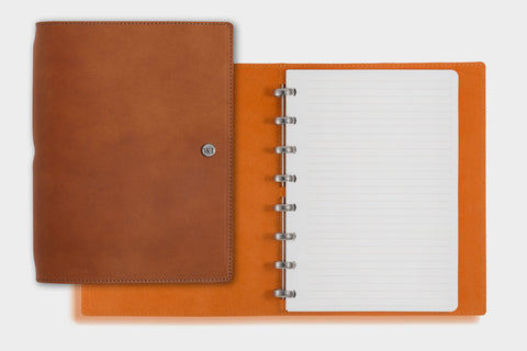 A5 Whiskey & Orange Notebook