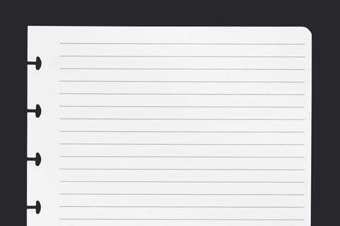 Make your own lined paper