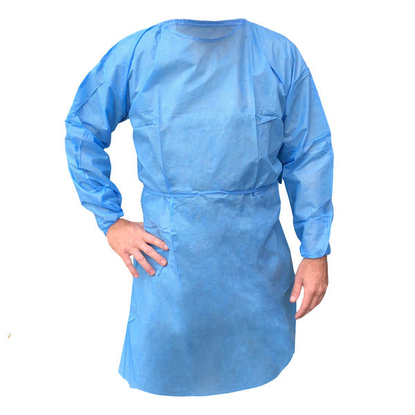 Lightweight SMS Isolation Gown