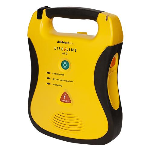 Defibtech Lifeline Semi Automatic AED from Helping Hearts