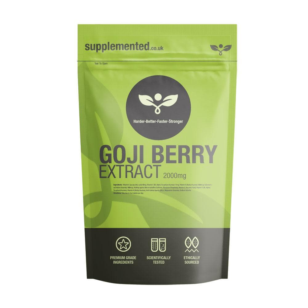 Goji Berry Extract 2000mg Tablets - Supplemented