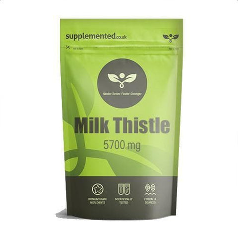 Milk Thistle Extract 5700mg Capsules Supplement - 1