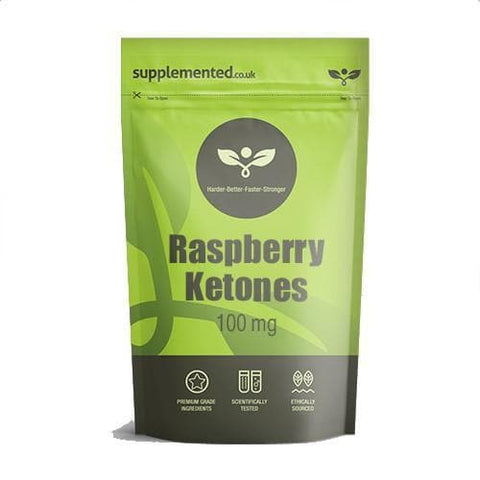 Raspberry Ketones 100mg Capsules Supplement