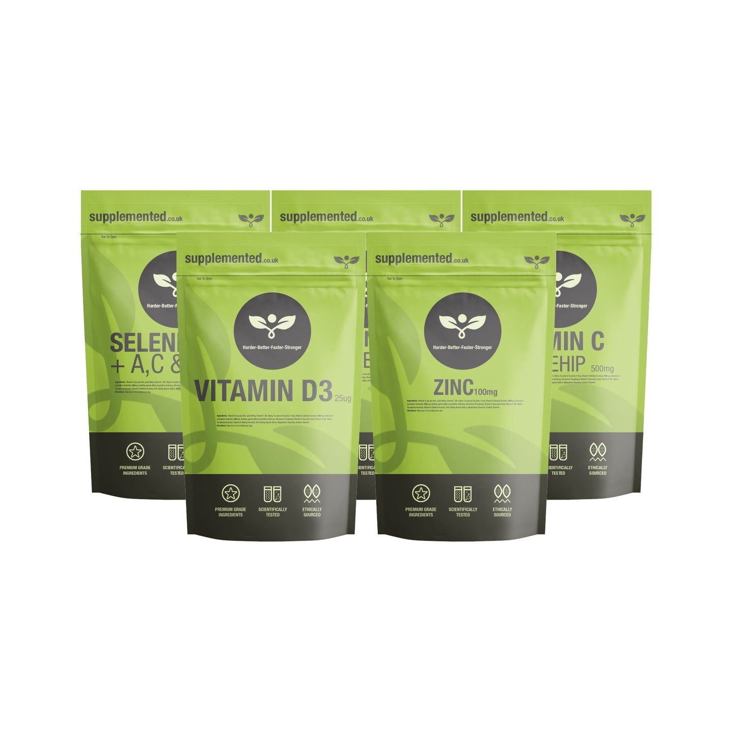 Immune Boosters Supplement Bundle