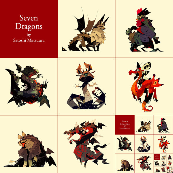 Seven Dragons (Set)
