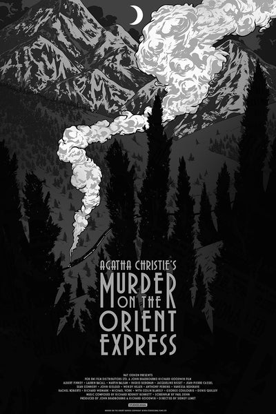 Murder On The Orient Express (Art Deco Variant)