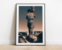Man With a Movie Camera (Art Print)