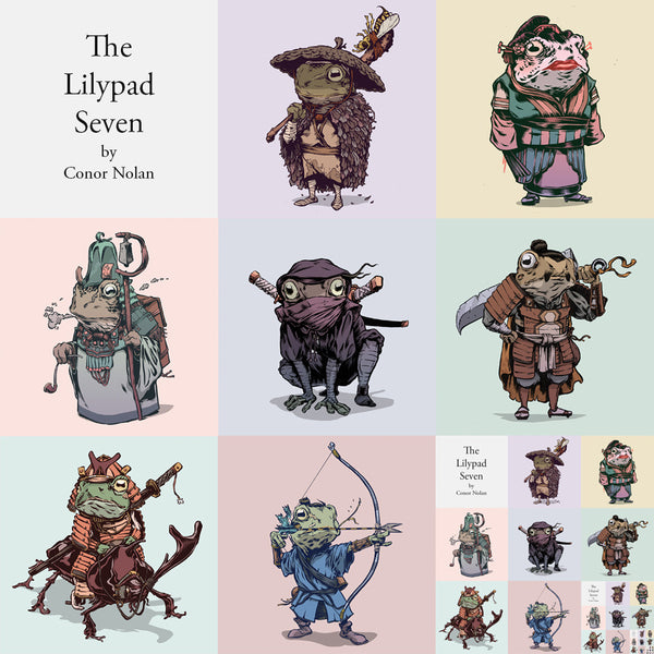 The Lilypad Seven (Set)