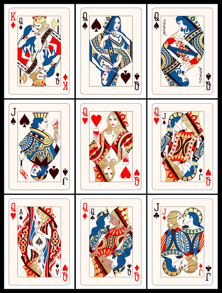 Playing Cards Full Set (Gold Edition)