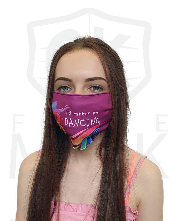 Barrier Mask reusable washable