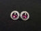 Crystal_Purple_Swarovski_Button_Earrings_irish_dancing_idanceirish_Jpeg