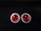 Crystal_Red_Swarovski_Button_Earrings_irish_dancing_idanceirish_Jpeg