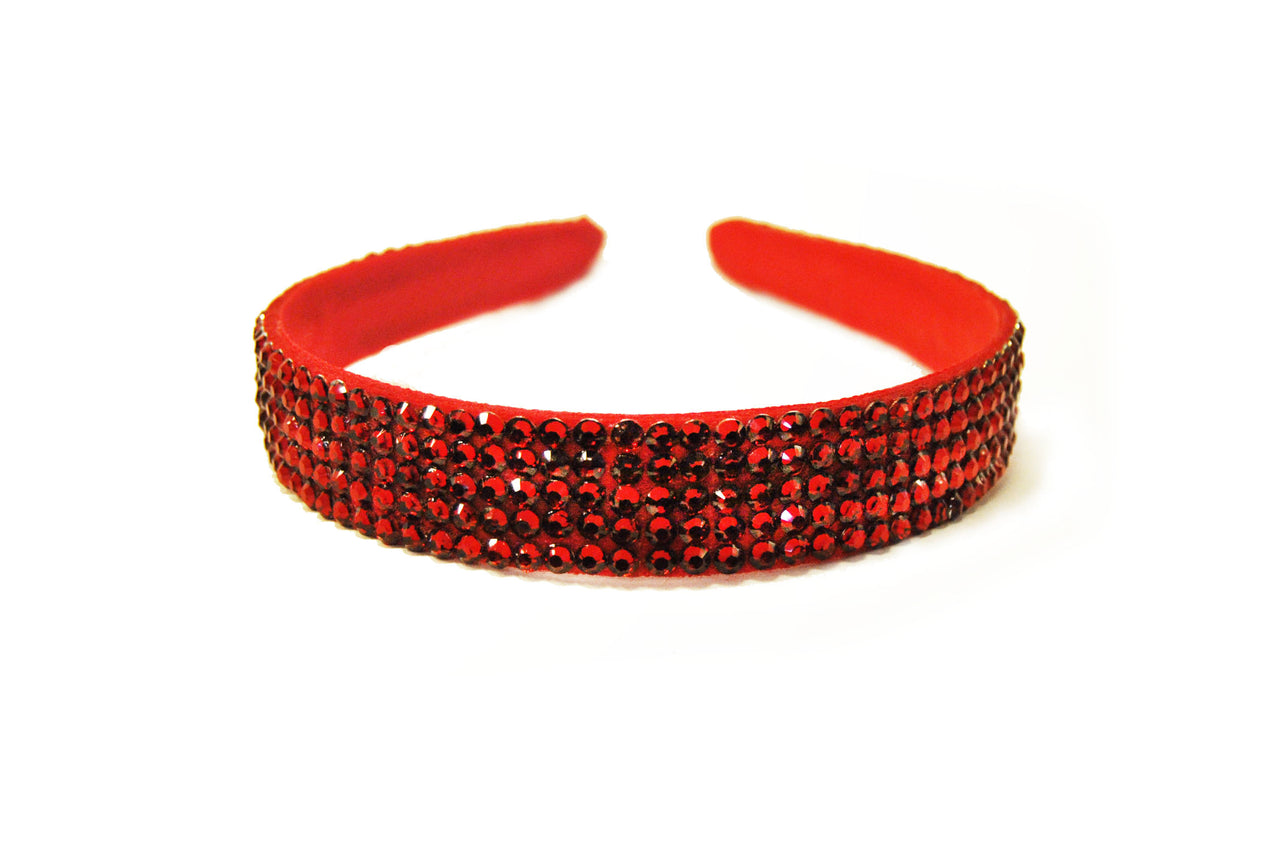 Diamante_delicate_beauty_headband_red_1inch_irish_dancing_jpeg_idanceirish
