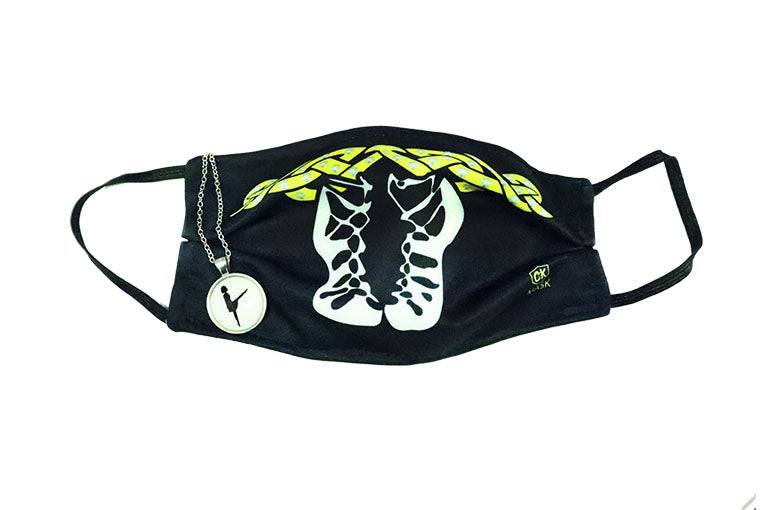 Glow in the Dark Neckless and Pump Face Mask