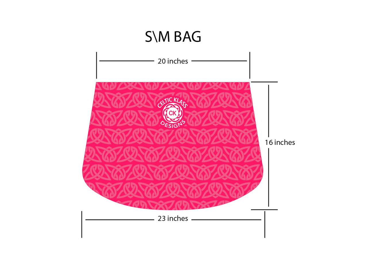 Irish Dancing Dress Cover - Pink Bag