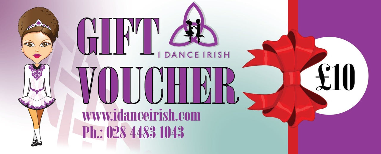 Idanceirish Gift Card