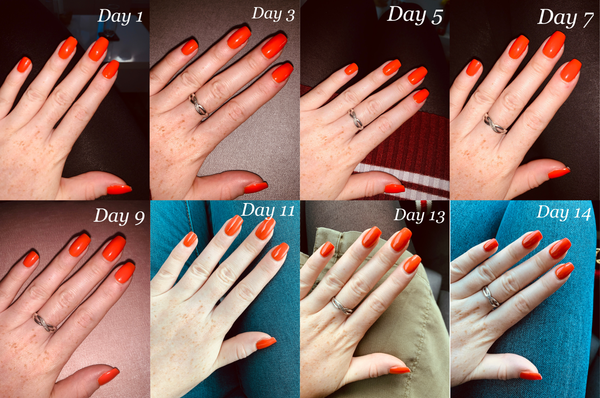Day 1-14 Nails