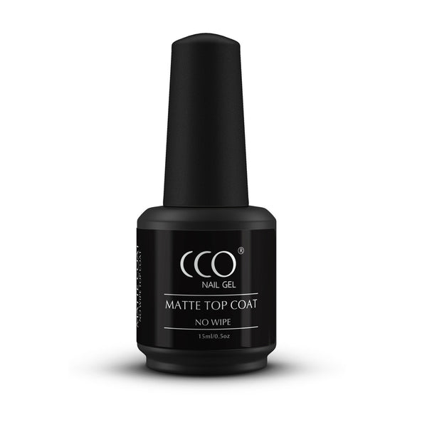 CCO Matte Top Coat 15ml - Gel Nail Varnish