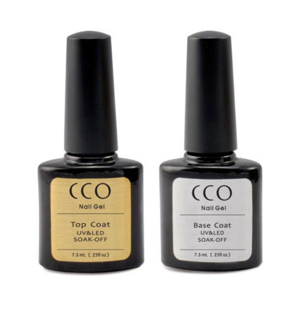 CCO Top & Base Coat - Gel Nail Varnish
