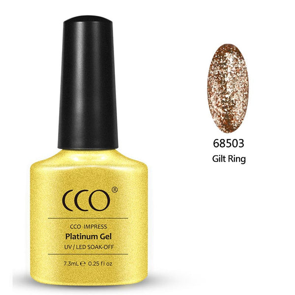 Gilt Ring Platinum 03 - Gel Nail Varnish